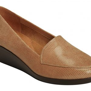 Women's True Match Slip-On Loafer Tan Lizard