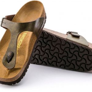 Birkenstock Gizeh Gold Brown