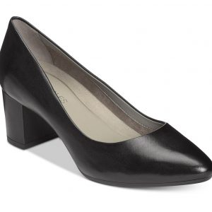 Women's Silver Star Pump Black