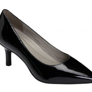 Women's Drama Club Pump Black Lack