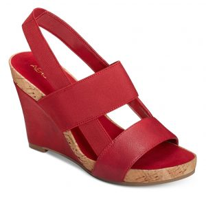 Women's Magnolia Plush Slingback Sandal Red