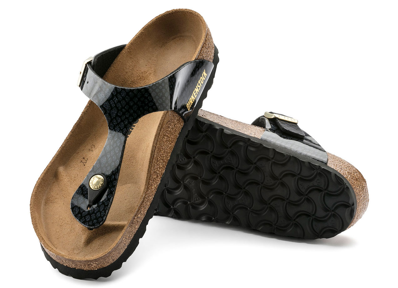 8e349c279e7f Birkenstock Gizeh Magic Snake Black – Birkenstock FootFit Simon ...
