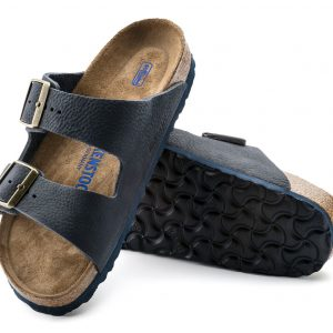 Birkenstock Arizona – Arizona Soft Footbed Steer Indigo