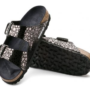 Birkenstock Arizona Metallic Stones Black